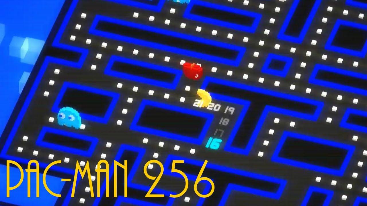 PAC MAN 256 Endless Maze poster