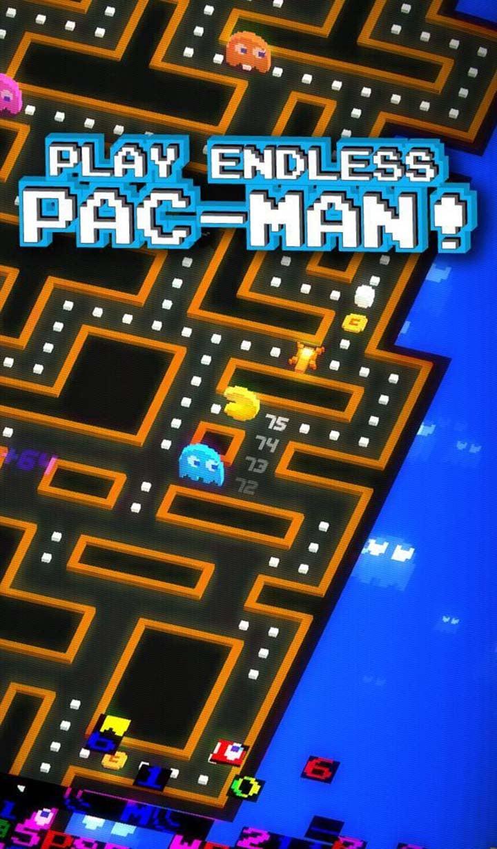 PAC MAN 256 Endless Maze screen 0