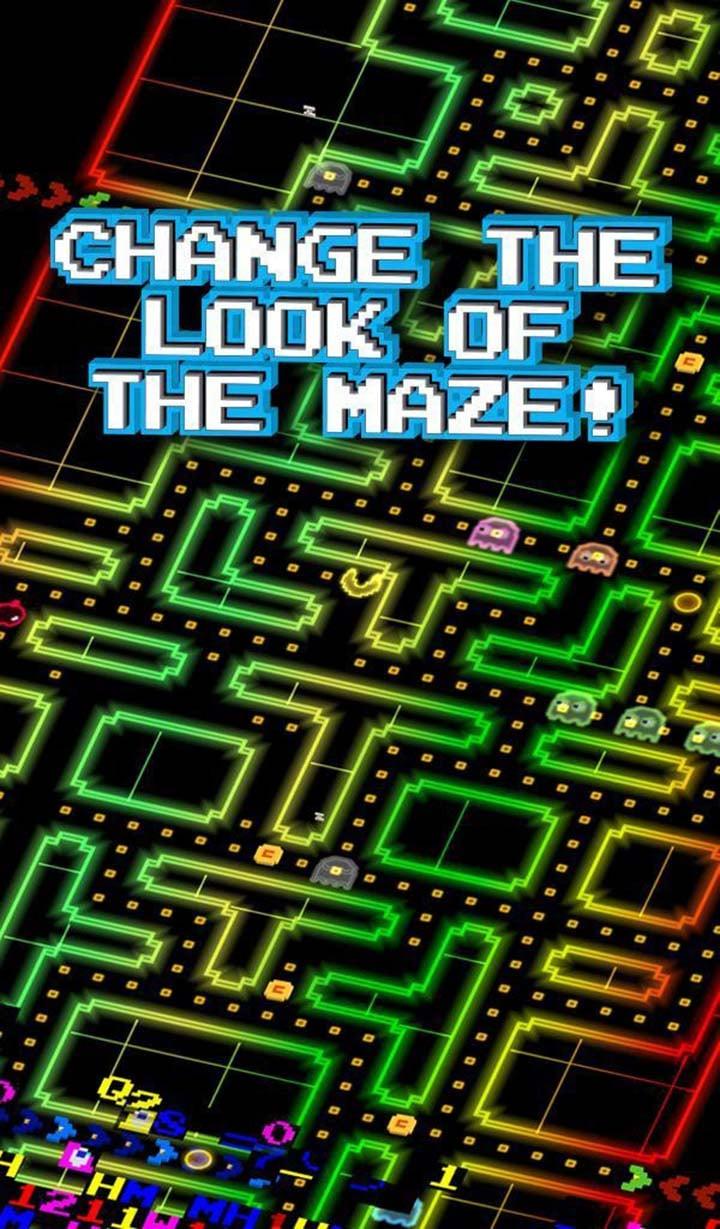 PAC MAN 256 Endless Maze screen 1