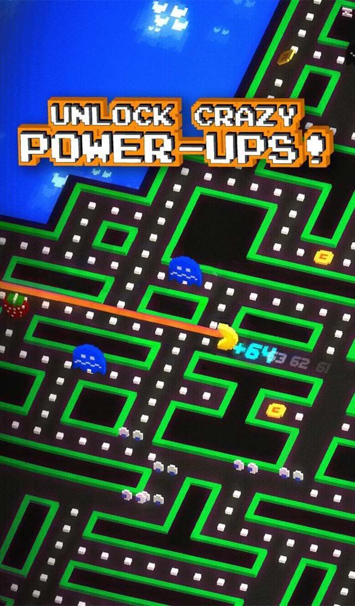 PAC MAN 256 Endless Maze screen 4