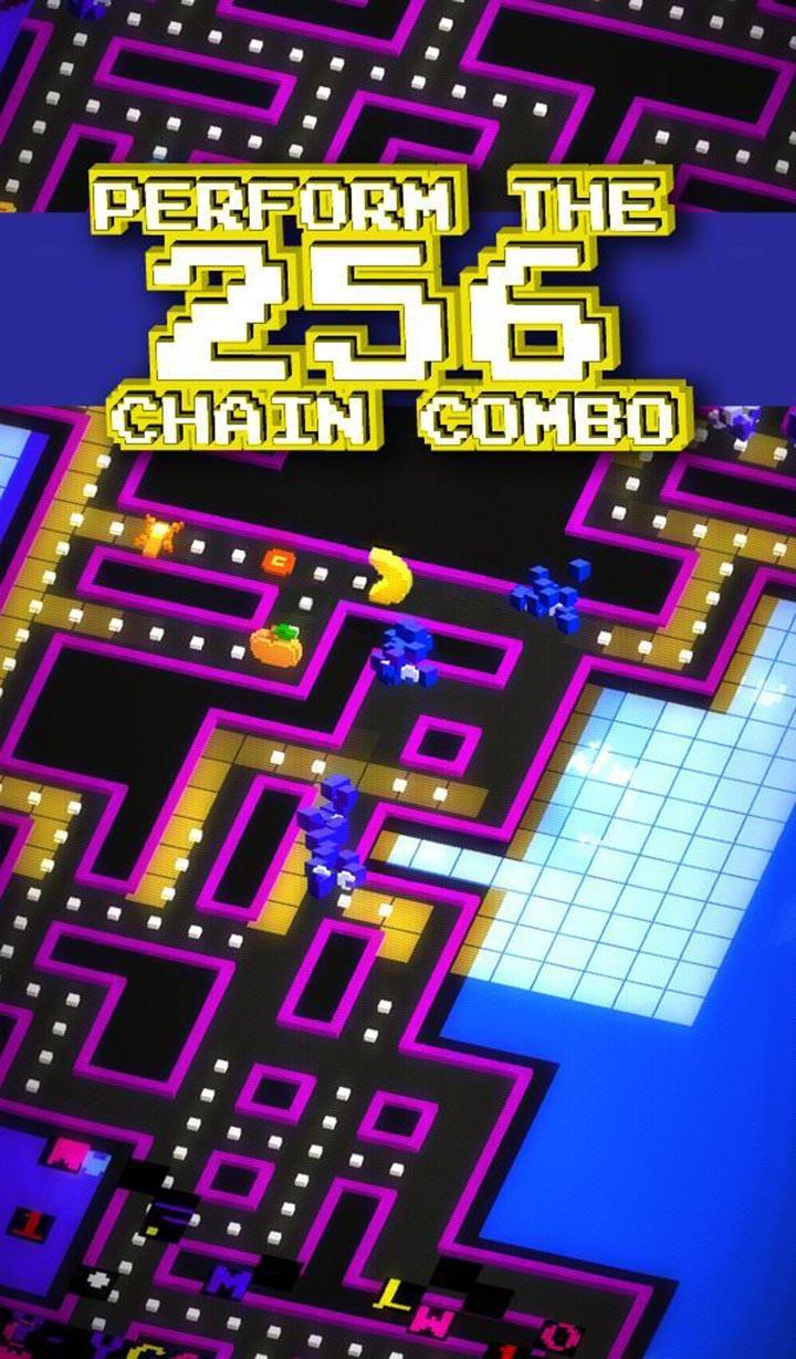 PAC MAN 256 Endless Maze screen 5