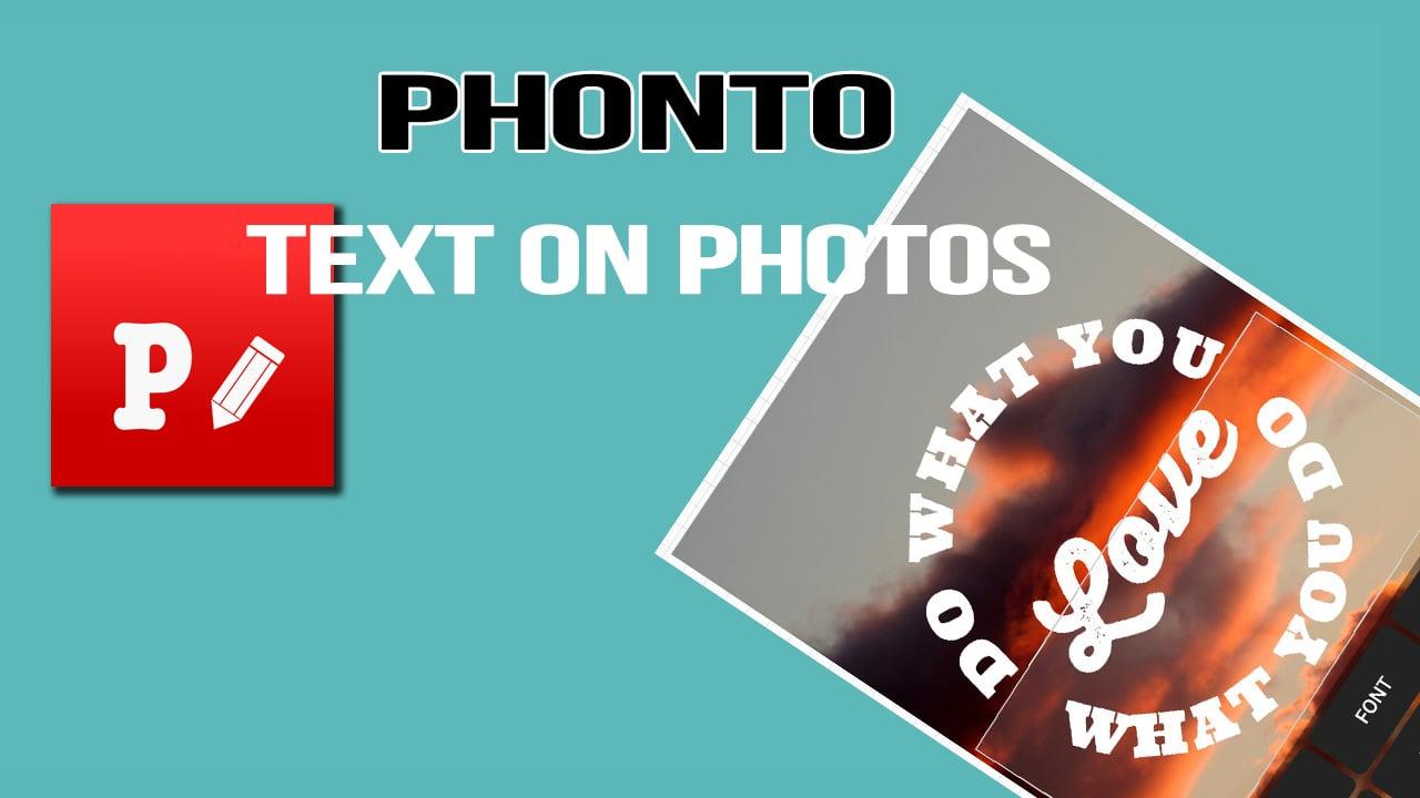 Phonto poster