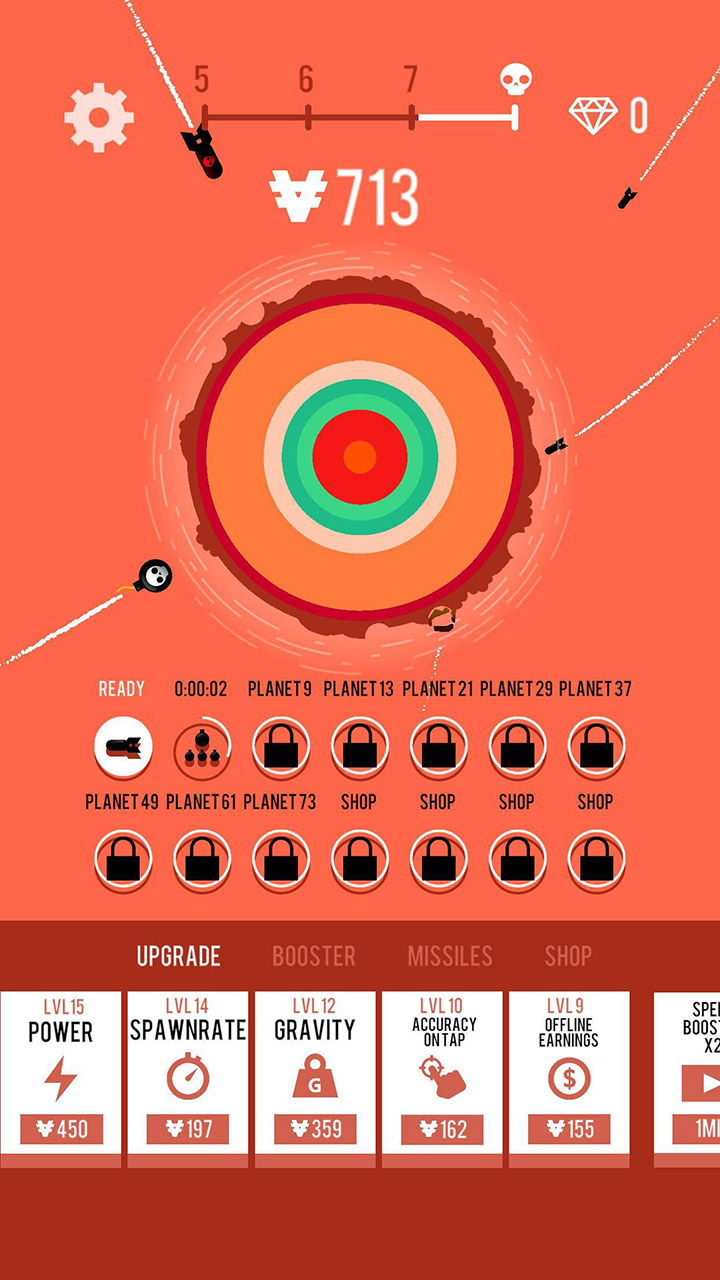 Planet Bomber screen 0