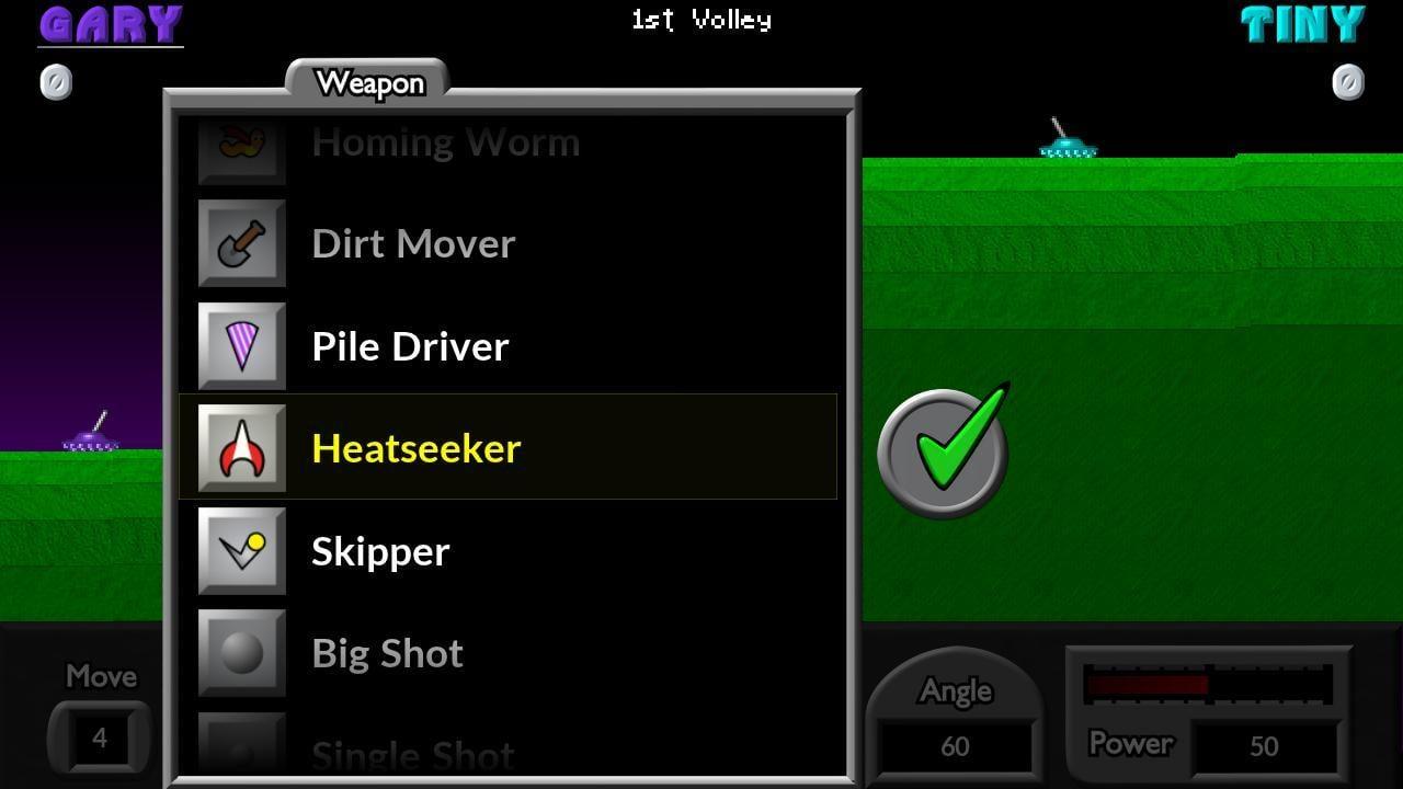 Pocket Tanks screen 2