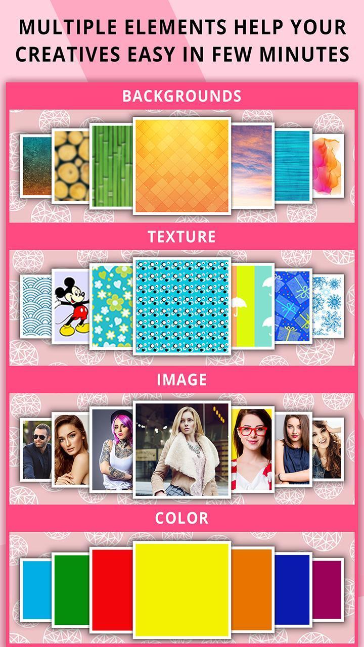 Poster Maker screen 3