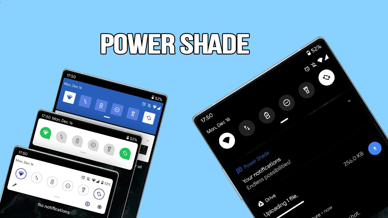 Power Shade poster