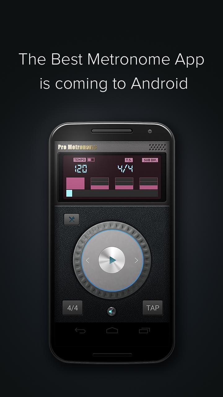 Pro Metronome screen 0