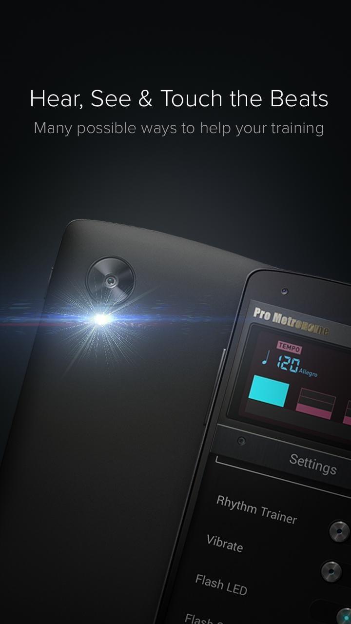 Pro Metronome screen 1