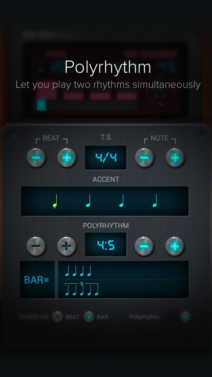 Pro Metronome screen 3