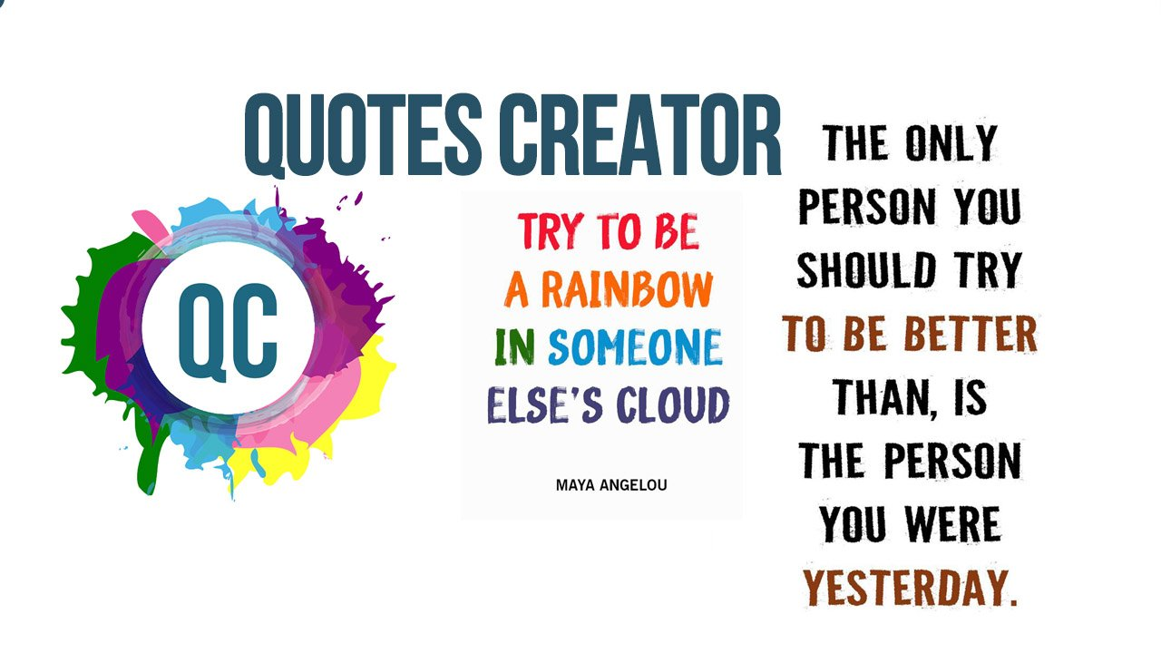 Quotes Creator poster