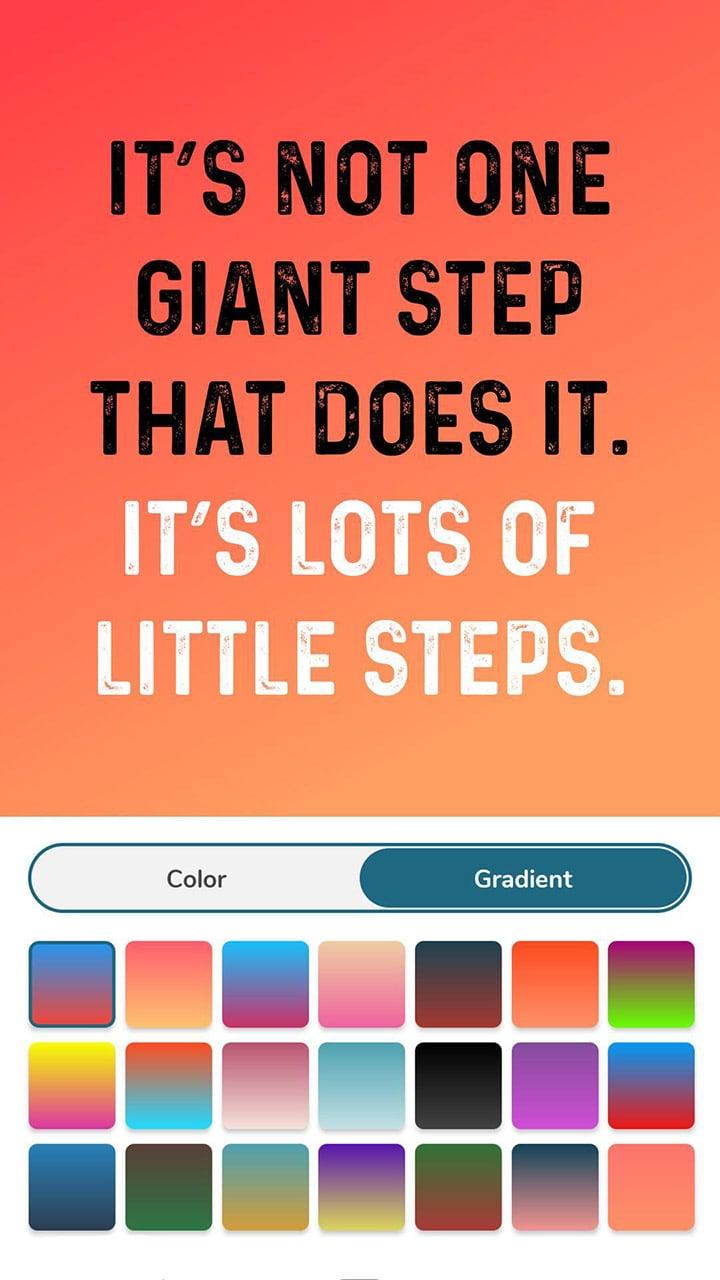 Quotes Creator screen 5