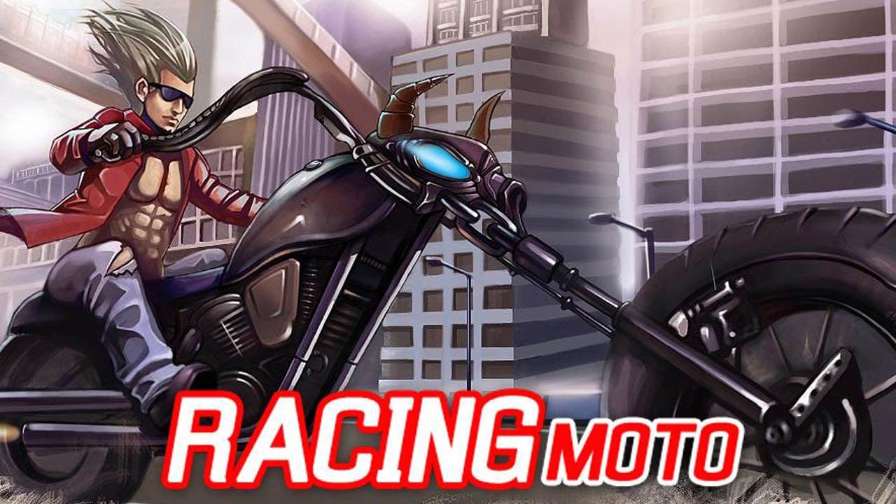 Racing Moto poster