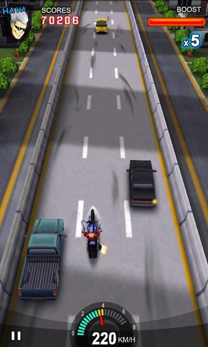 Racing Moto screen 0