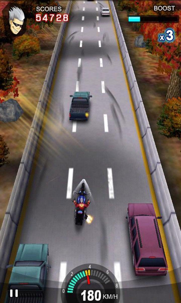 Racing Moto screen 1