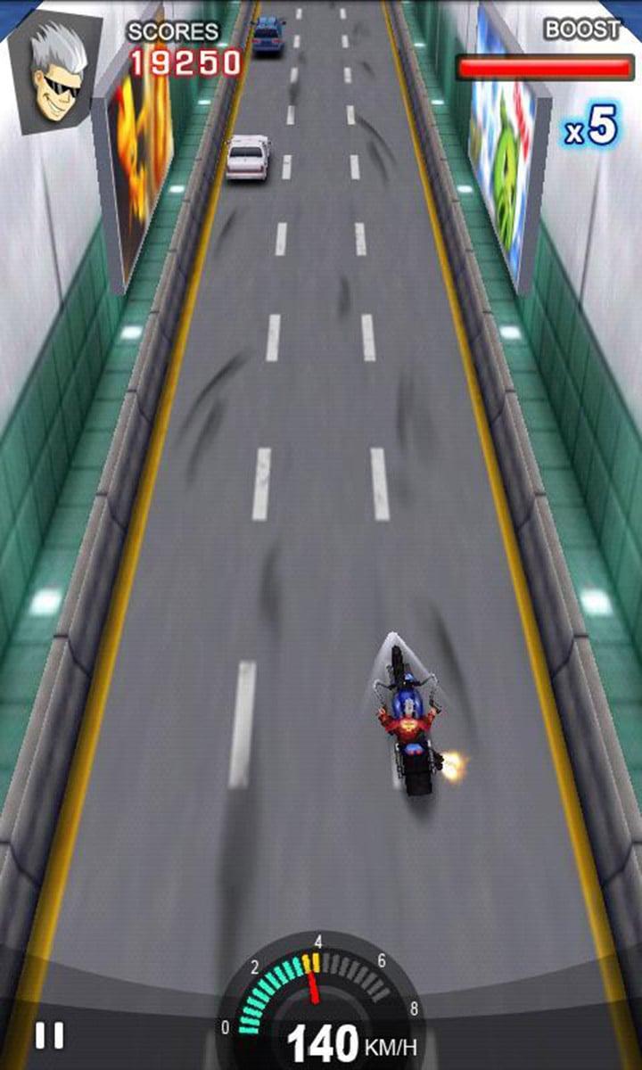 Racing Moto screen 2