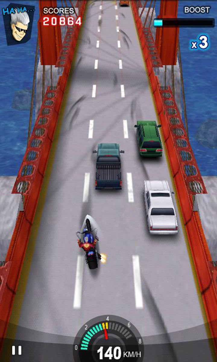 Racing Moto screen 3
