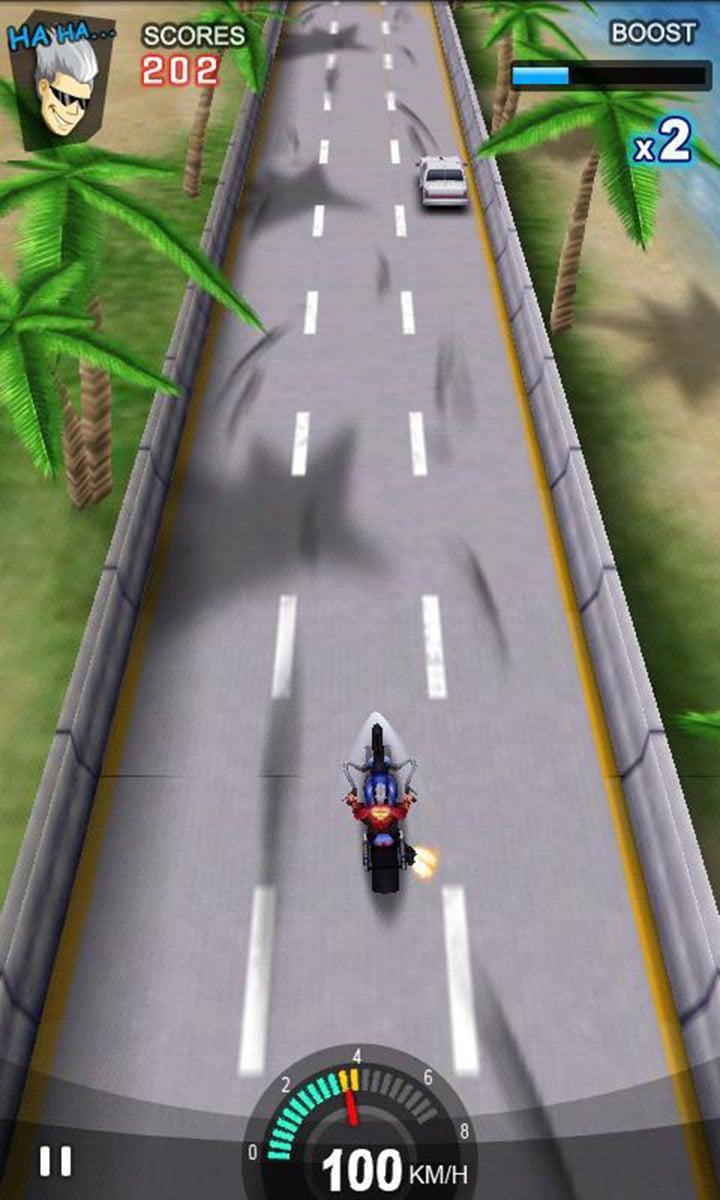 Racing Moto screen 4