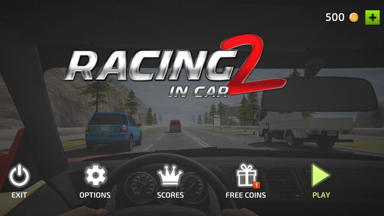 Racing in Car 2 poster