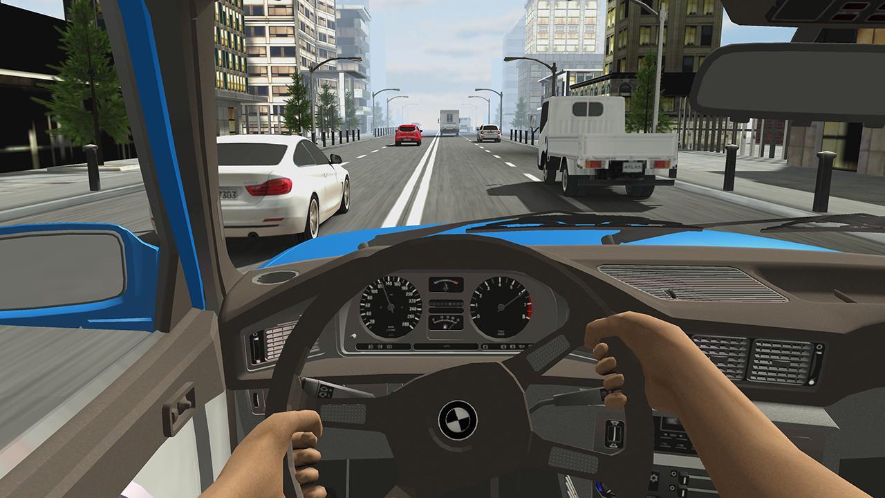 Racing in Car 2 screen 2