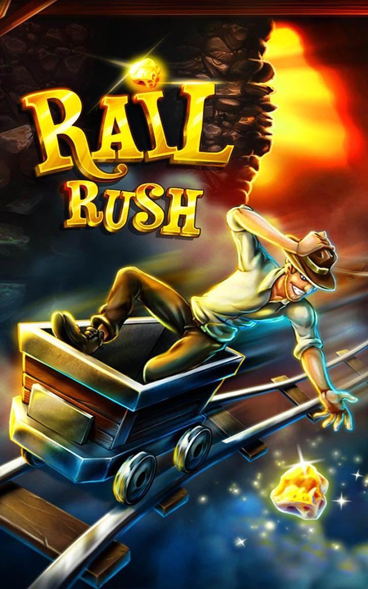 Rail Rush screen 0