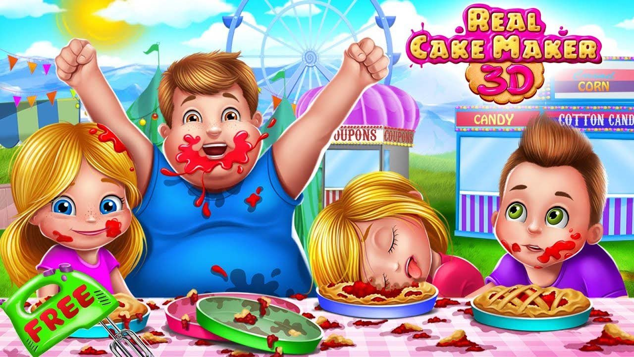 Real Cake Maker 3D poster