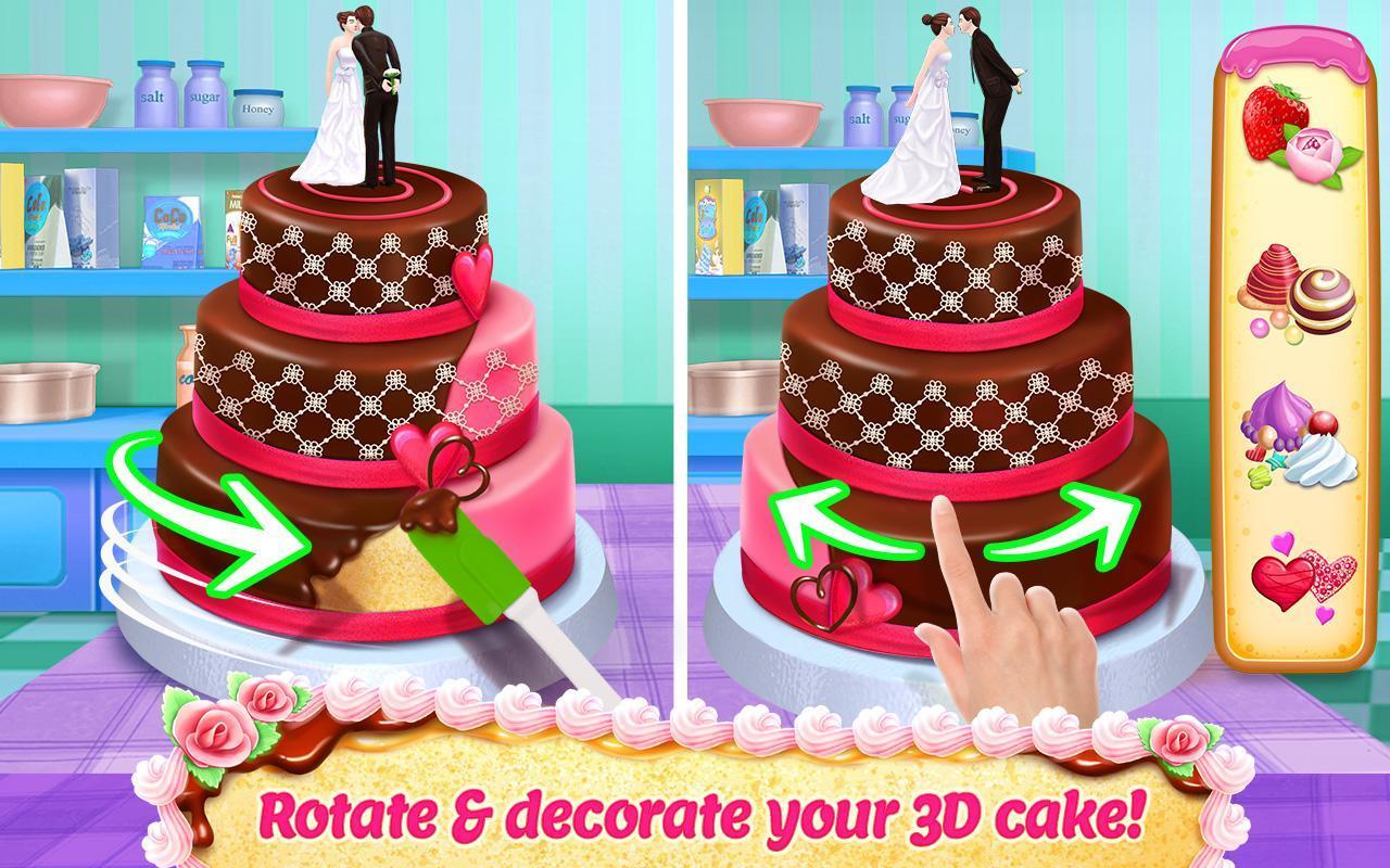 Real Cake Maker 3D screen 0
