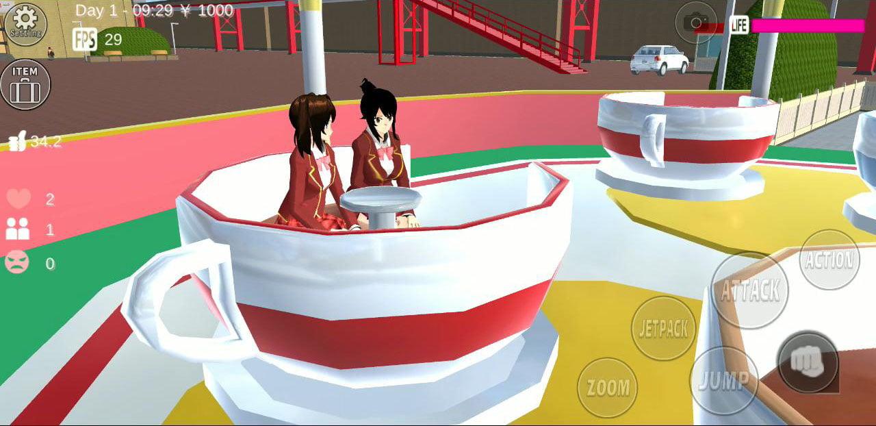 SAKURA School Simulator screen 3