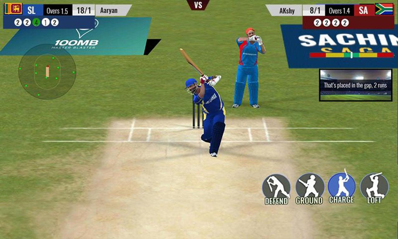 Sachin Saga Cricket Champions screen 3
