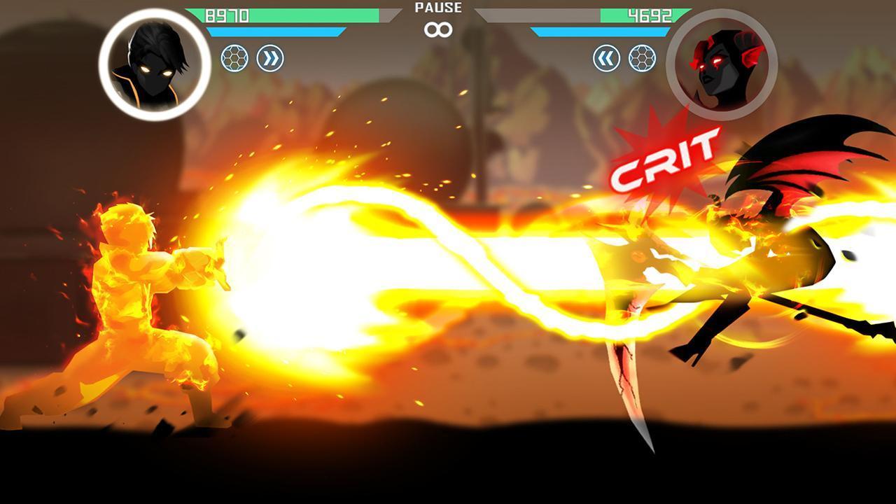 Shadow Battle screen 1