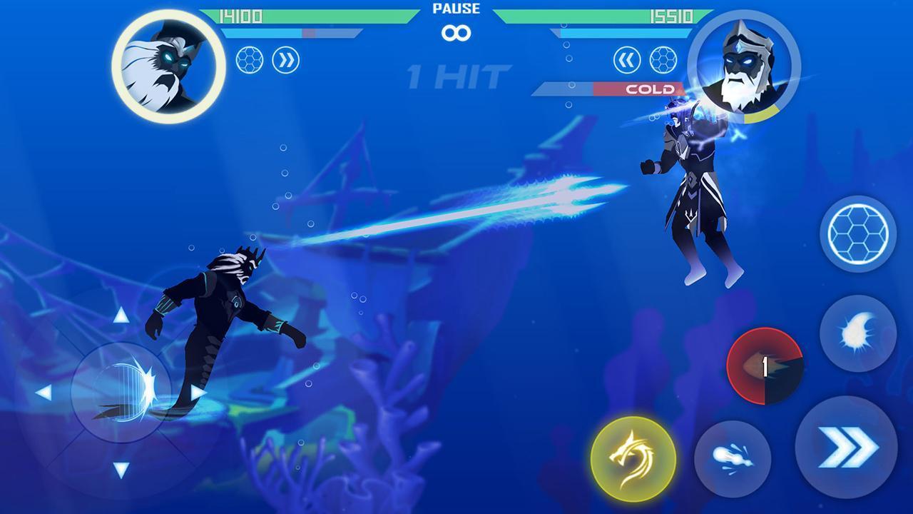 Shadow Battle screen 2