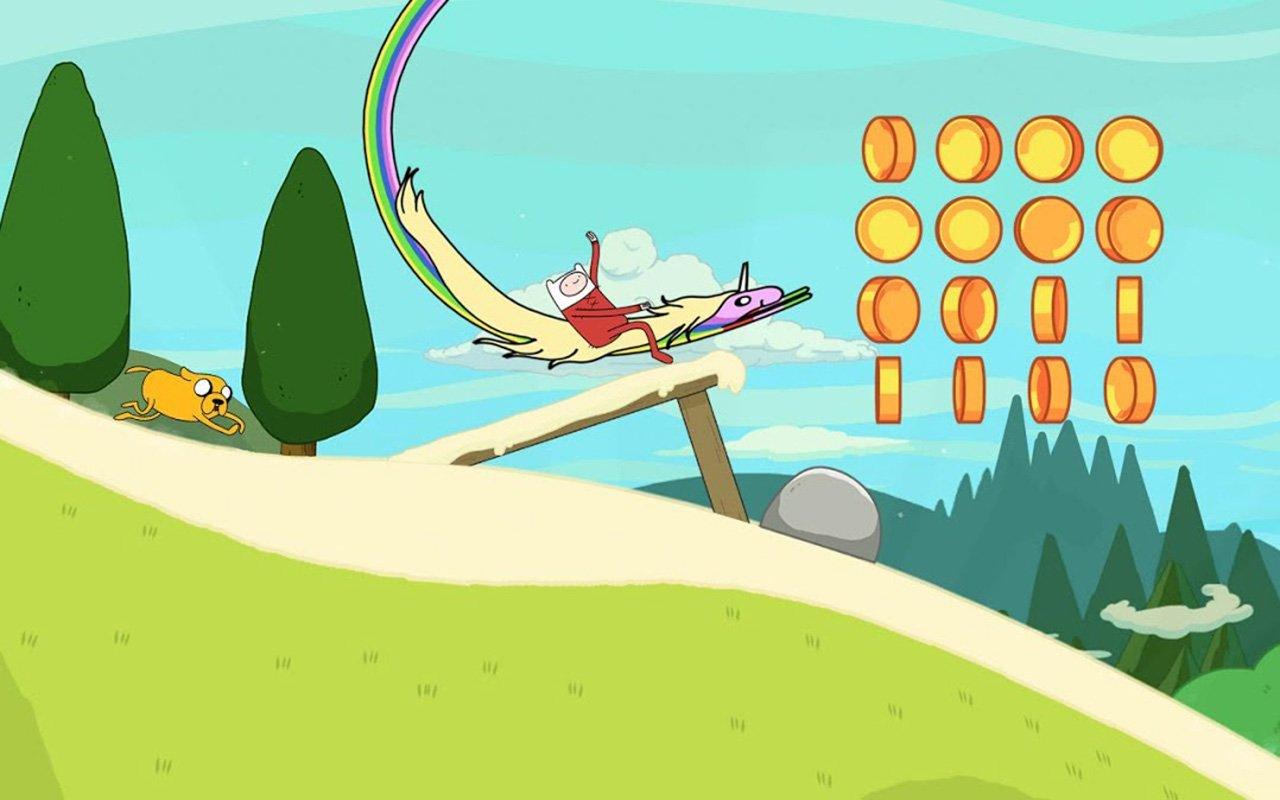 Ski Safari Adventure Time screen 4