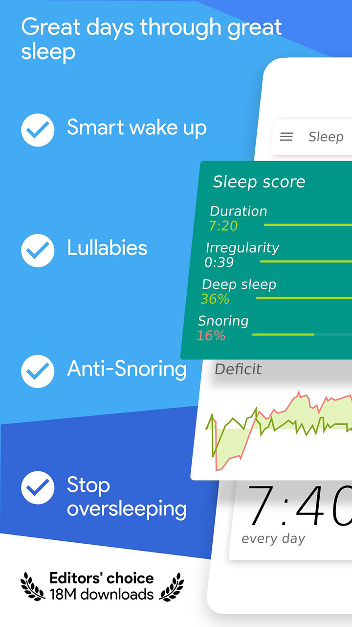 Sleep as Android screen 0