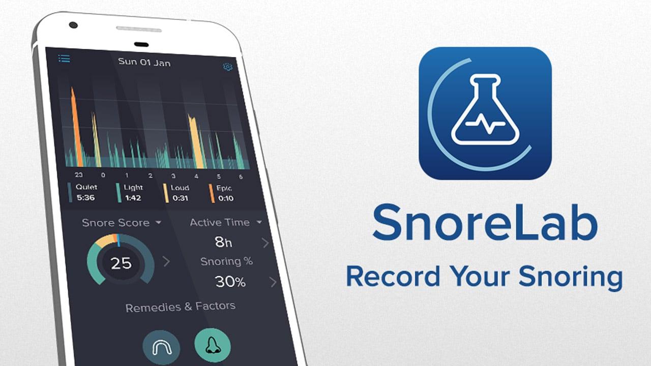 SnoreLab poster
