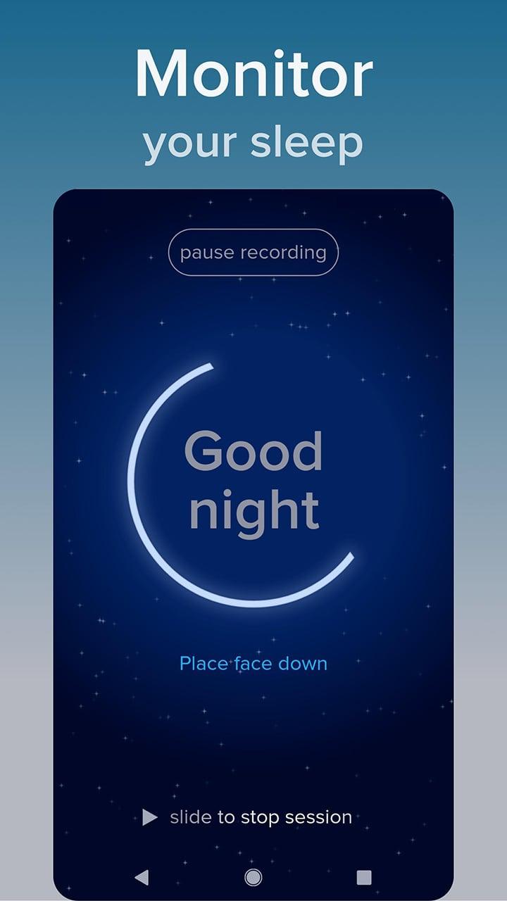 SnoreLab screen 1