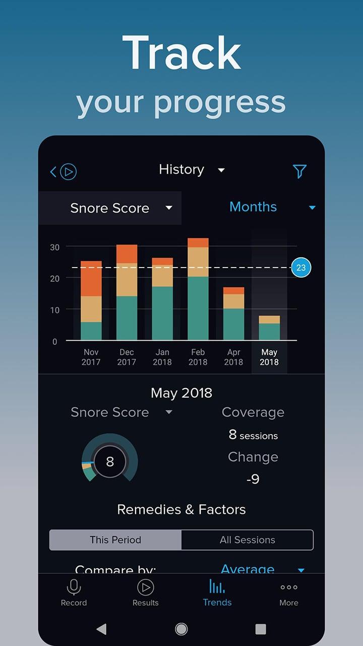 SnoreLab screen 4