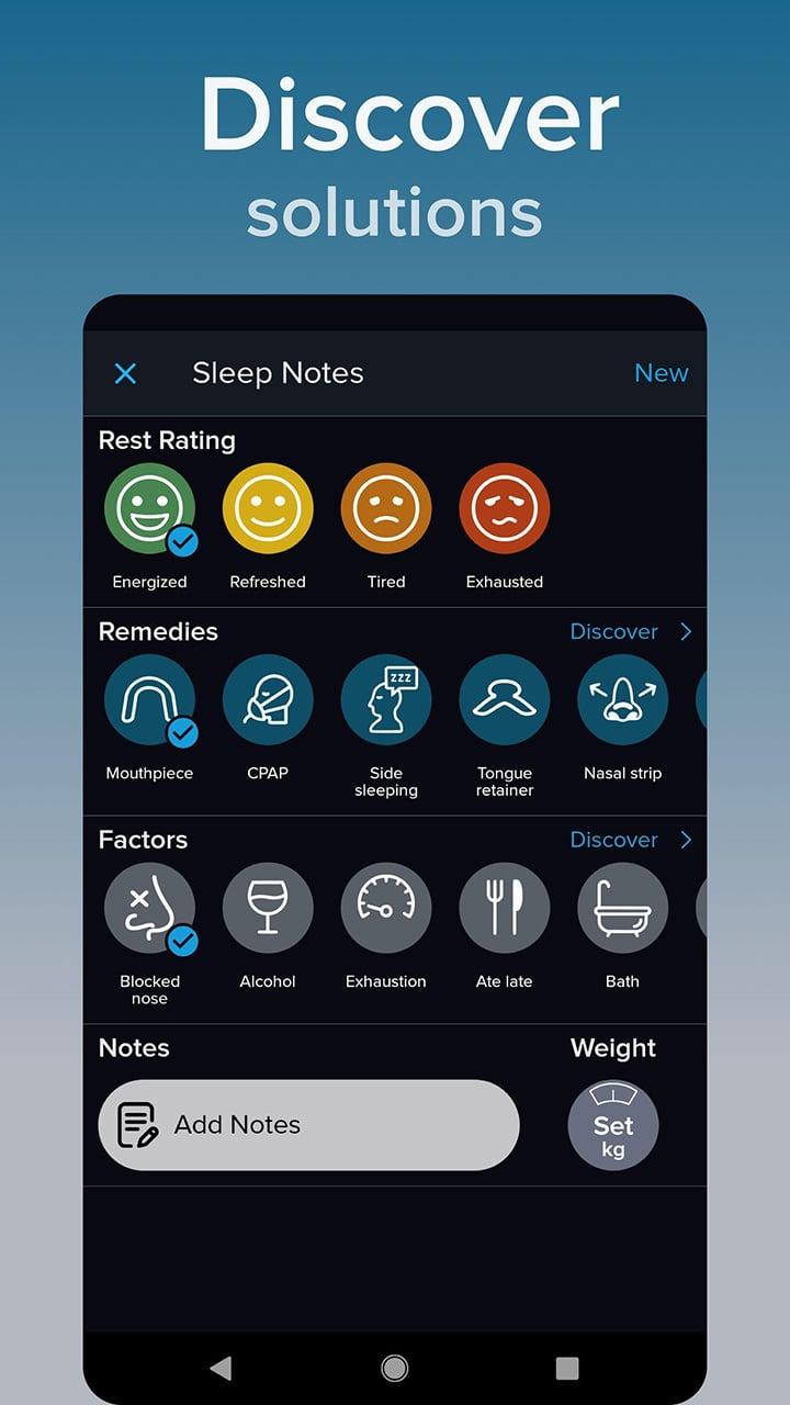 SnoreLab screen 5