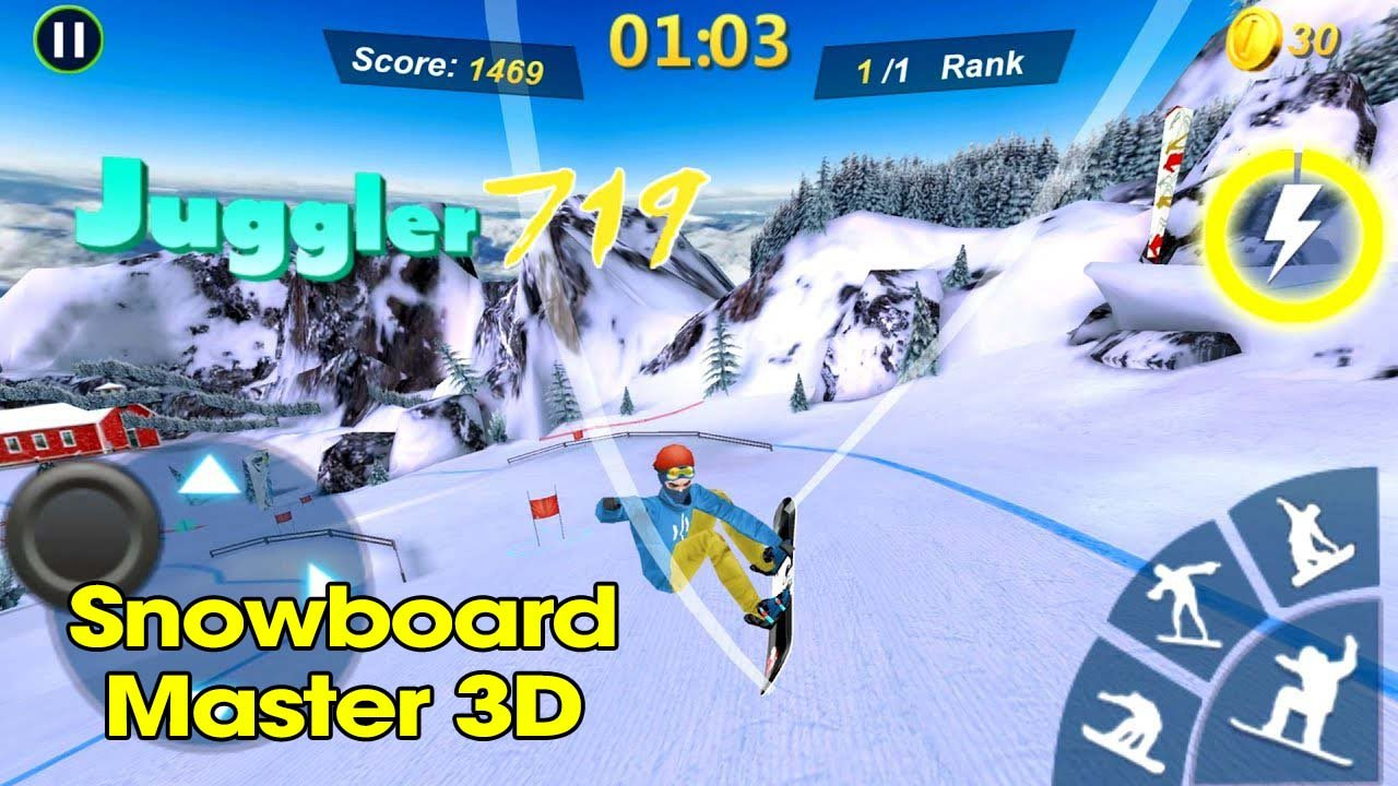 Snowboard Master 3D poster