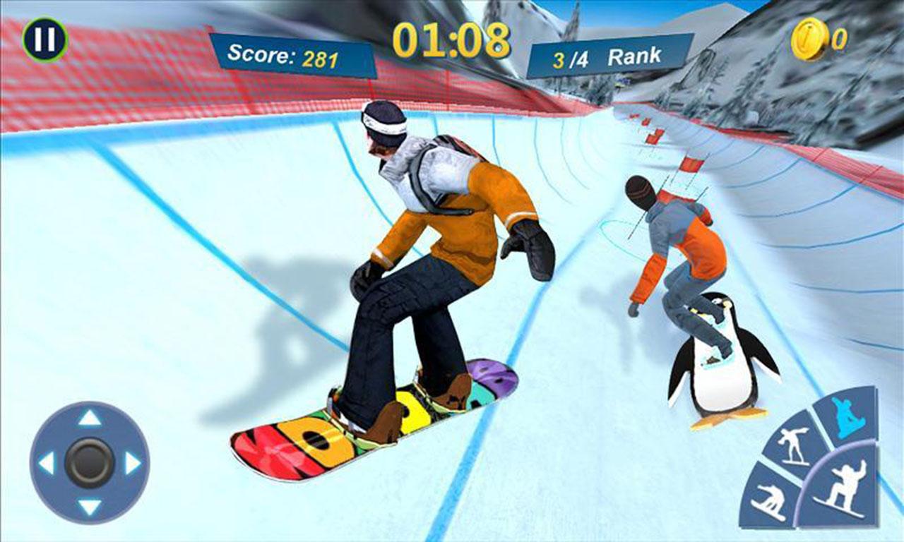 Snowboard Master 3D screen 0