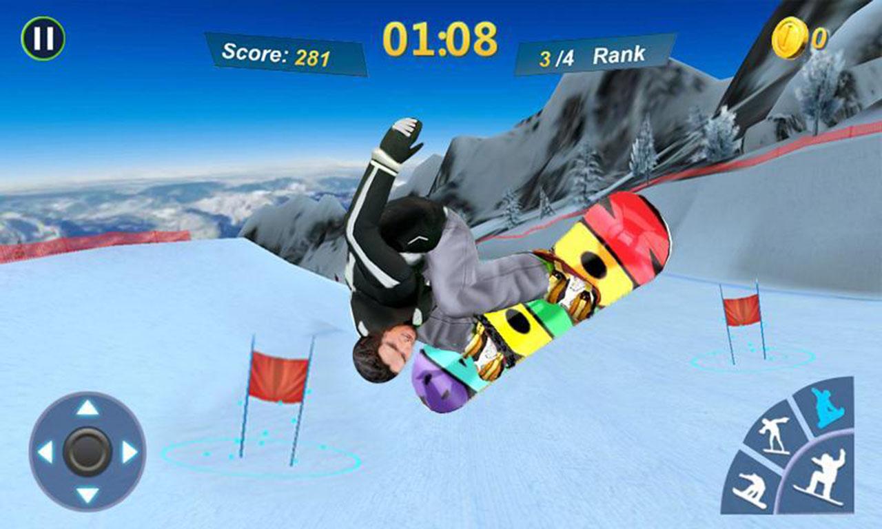 Snowboard Master 3D screen 1