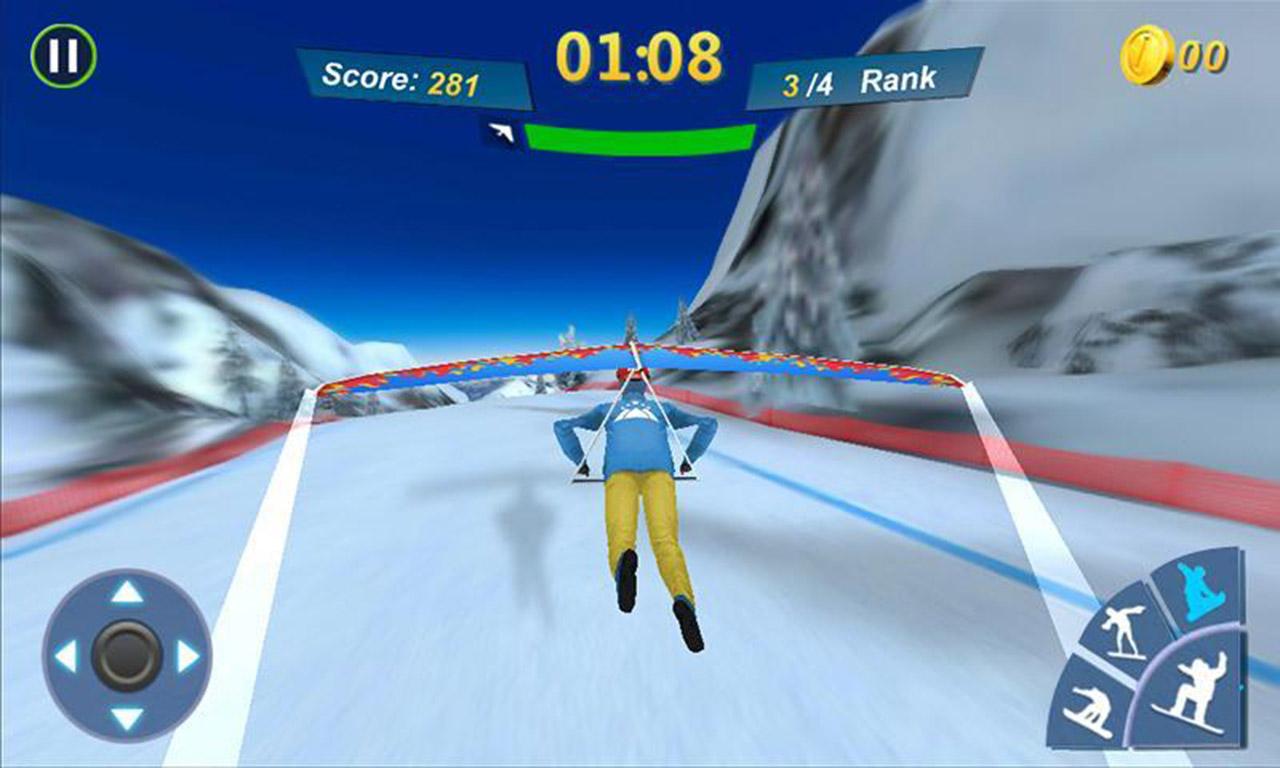 Snowboard Master 3D screen 2