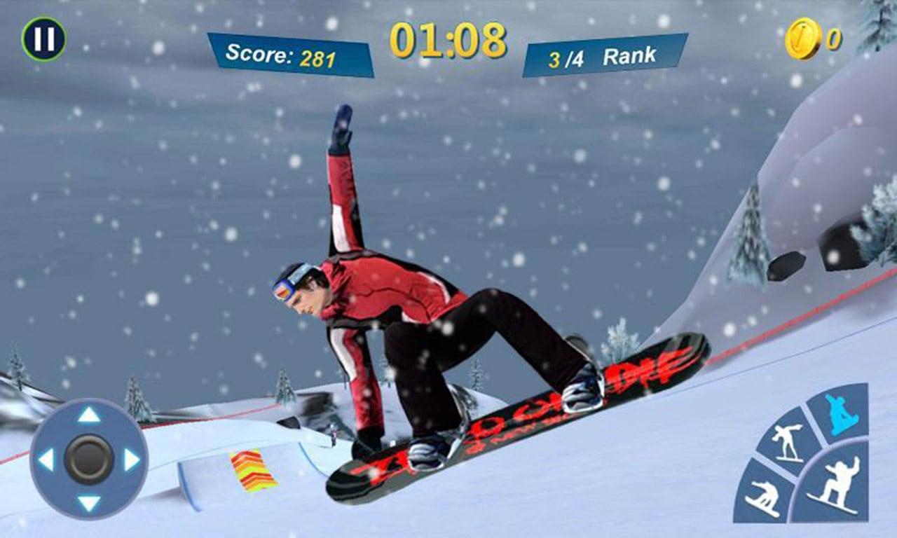 Snowboard Master 3D screen 3