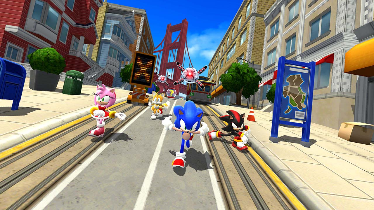 Sonic Forces screen 4