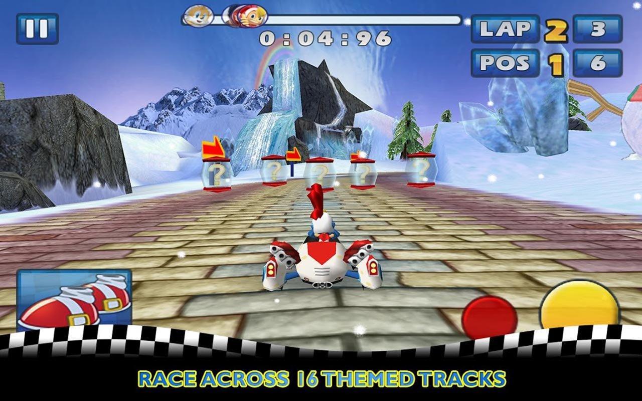 Sonic & SEGA All Stars Racing screen 1