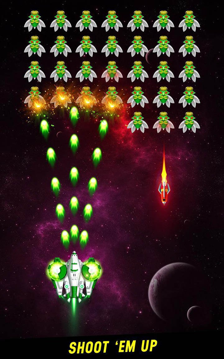 Space shooter screen 0