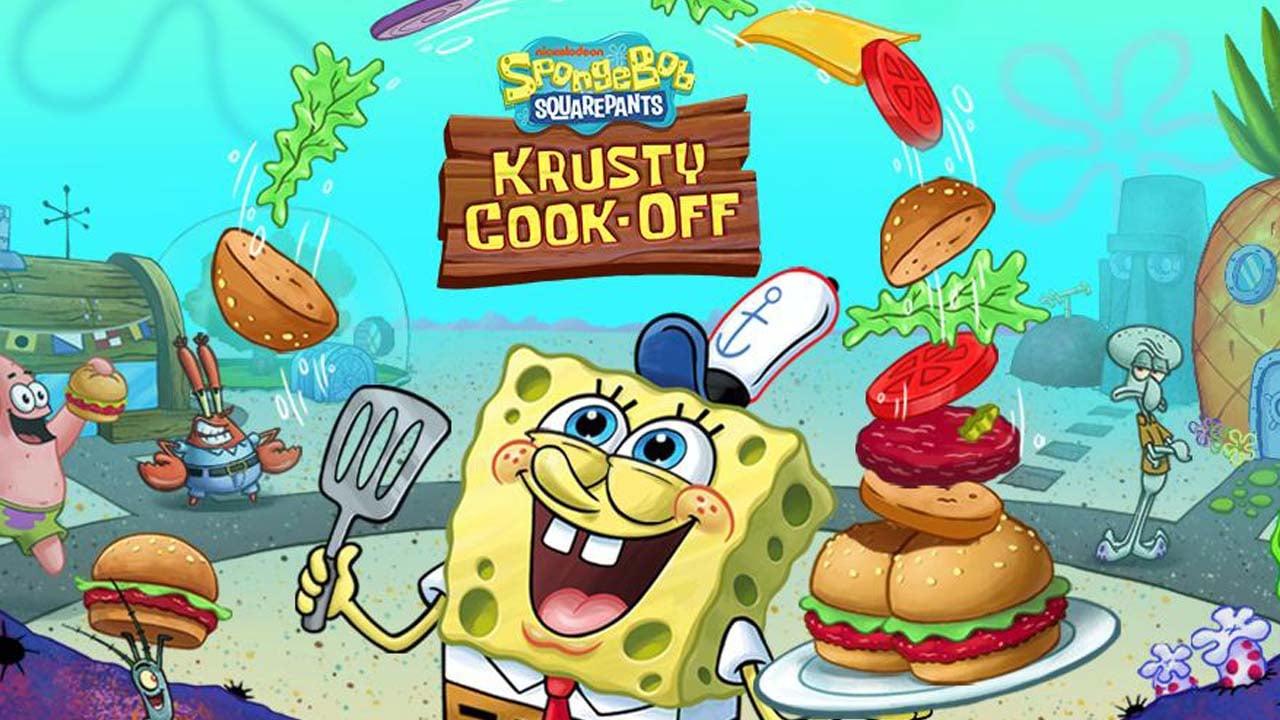 SpongeBob Krusty Cook Off poster