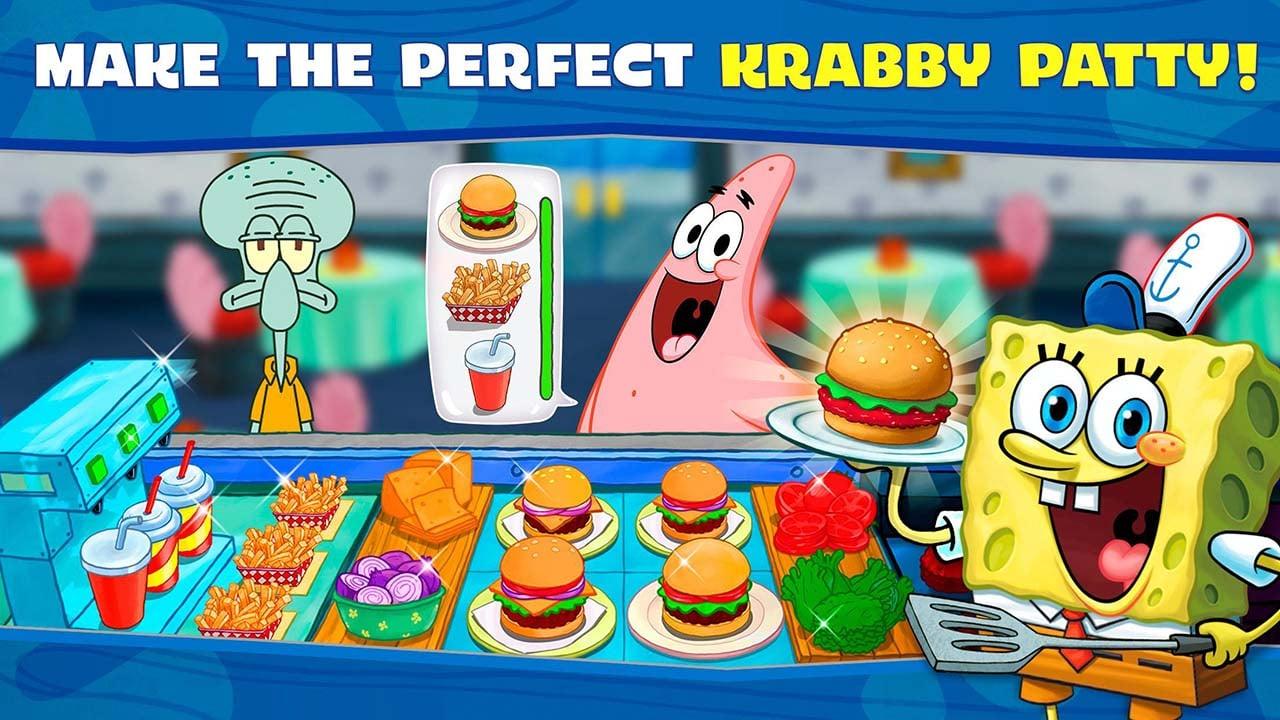 SpongeBob Krusty Cook Off screen 1