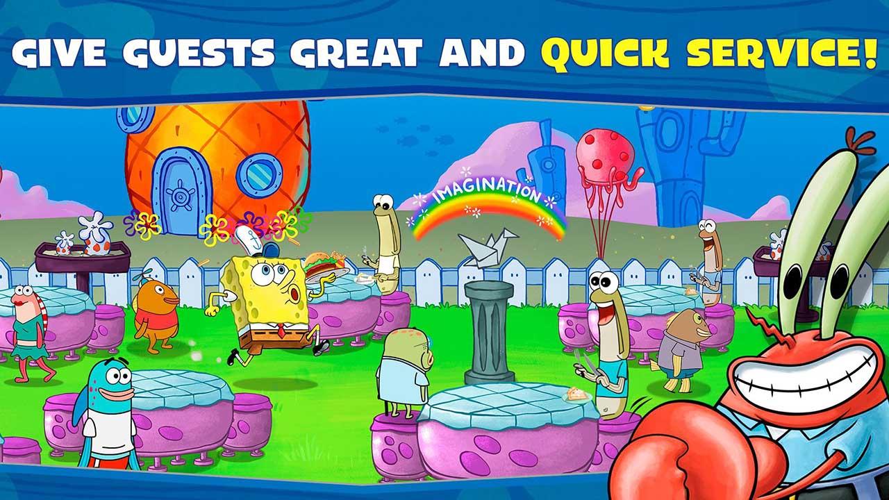 SpongeBob Krusty Cook Off screen 2