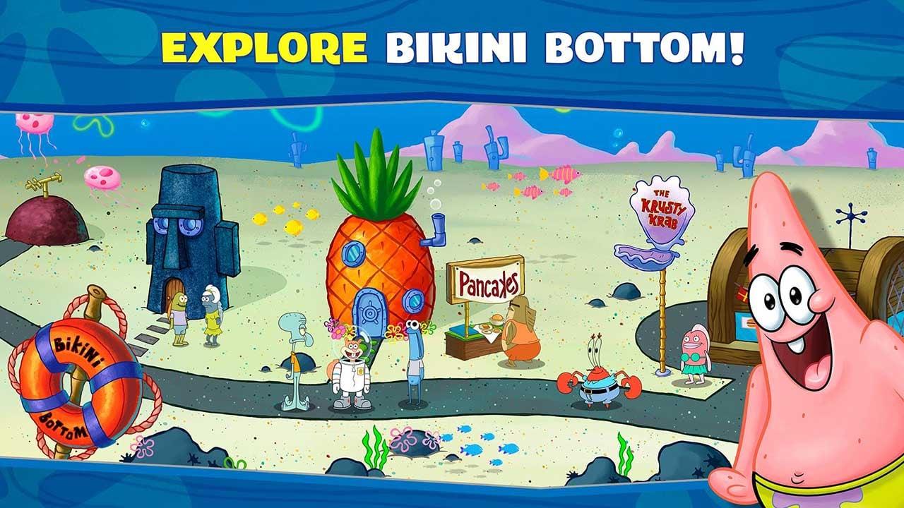 SpongeBob Krusty Cook Off screen 3