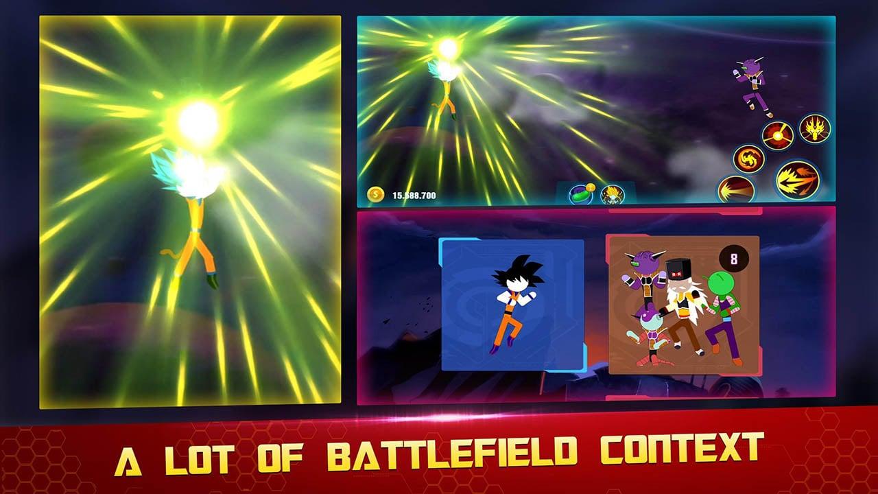 Stick Z Super Dragon Fight screen 1