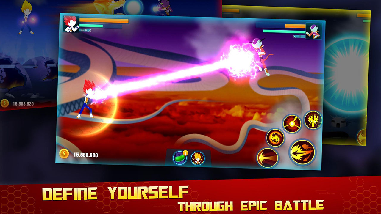 Stick Z Super Dragon Fight screen 3